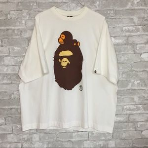 BAPE Authentic Double Sided Ape Graphic Tee 2XL